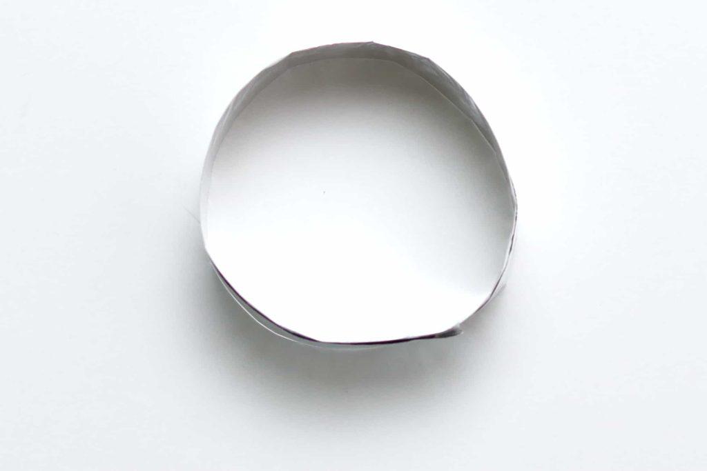 Finished DIY egg ring