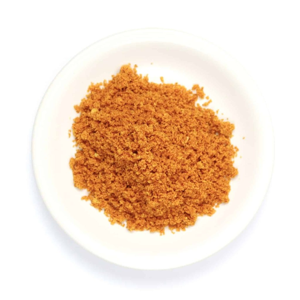 DIY Hot Cheeto Powder On Small Plate